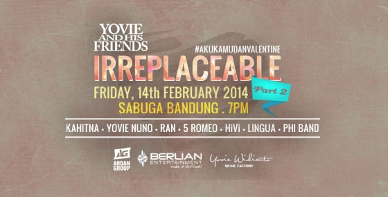 Yovie & His Friends IRREPLACEABLE Concert Part 2